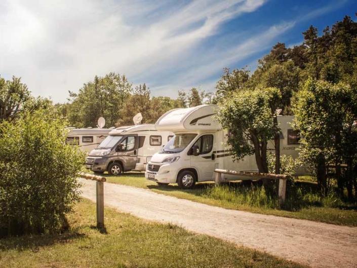 Campingplatz Ostsee Camping Wohnwagen Usedom Rezeption