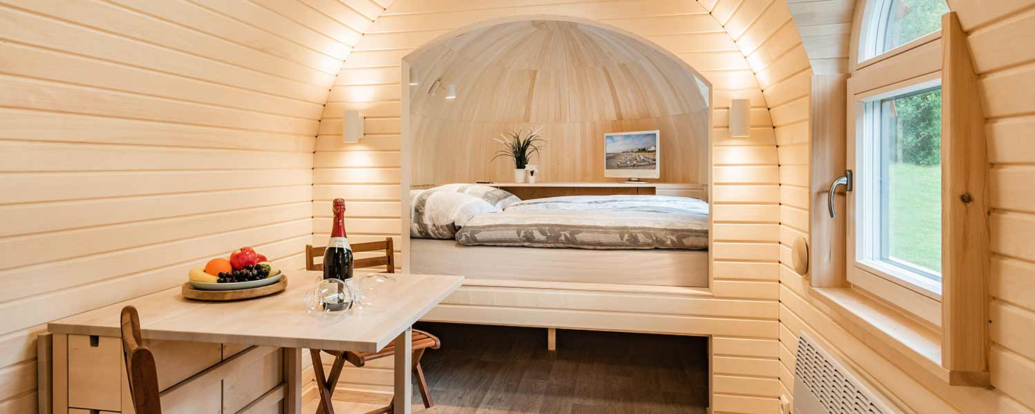 Tiny-House-Insel Usedom Ostsee Bansin