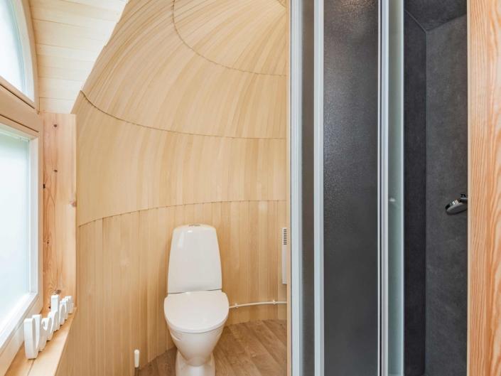 Tiny House Ostsee Usedom Bansin Badezimmer
